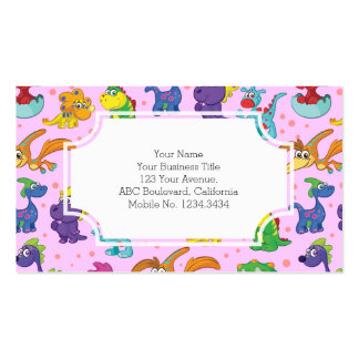 Dinosaur Cuteness Kawaii Extravaganza Business Card