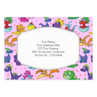 Dinosaur Cuteness Kawaii Extravaganza Large Business Card