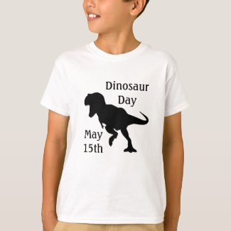 Dinosaur Day May 15th Cool Kid's Holiday Shirt