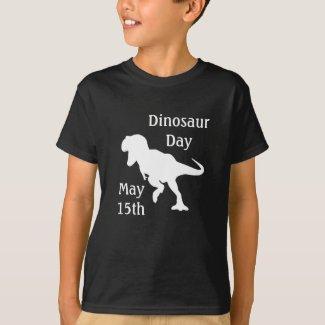 Dinosaur Day May 15th Cool Kid's Holiday Shirt