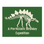 Dinosaur Dig Birthday Adventure Post Cards
