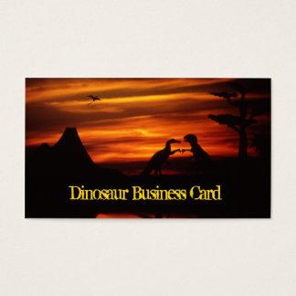 Dinosaur Dino T-Rex Fossil Hunter Business Card