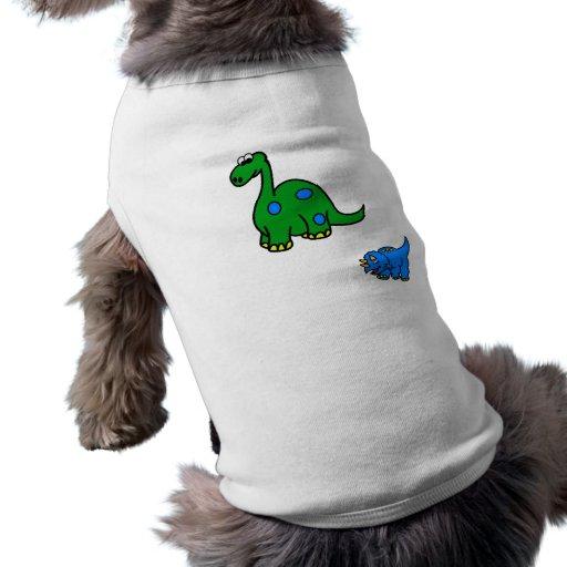 dinosaur doggie t-shirt