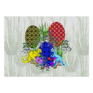 Dinosaur Easter Eggs Business Cards