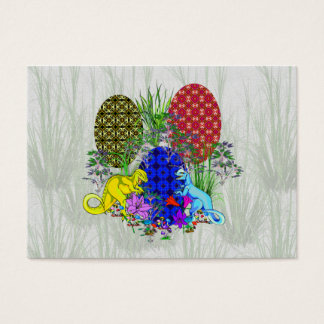 Dinosaur Easter Eggs Business Card