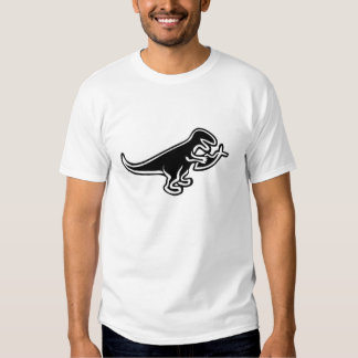 Dinosaur Eating Jesus Fish T-Shirt