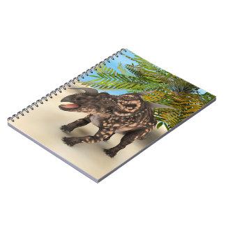 Dinosaur Einiosaurus Notebook