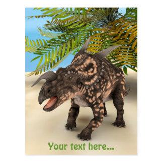 Dinosaur Einiosaurus Postcard