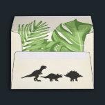 """Dinosaur Envelope Birthday Dino Party Boy<br><div class=""""desc"""">♥ Envelope matching all your party items! Dinosaur Party Theme.</div>"""