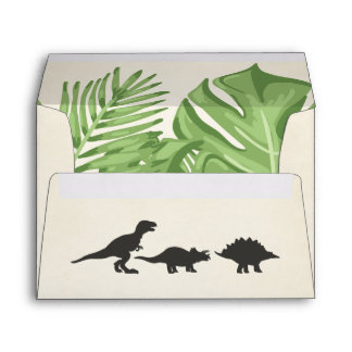 Dinosaur Envelope Birthday Dino Party Boy