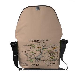 Dinosaur Era Pageant Messenger bag Greg Paul