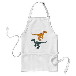 Dinosaur evil adult apron