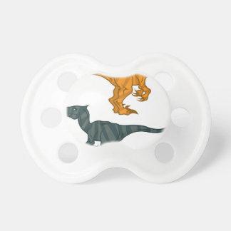 Dinosaur evil pacifier