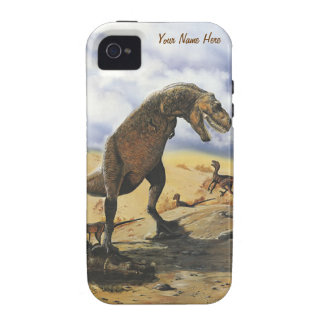 Dinosaur Family iPhone - Case Mate Tough iPhone 4/4S Cases