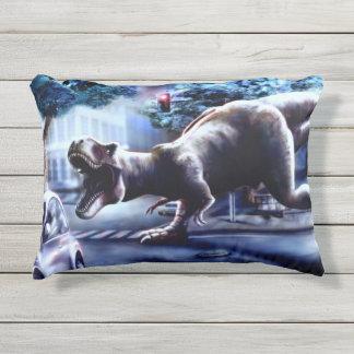 Dinosaur Fantasy Outdoor Accent Pillow