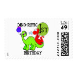 Dinosaur First Birthday Tshirts and Gifts Postage