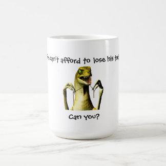 Dinosaur Flossing mug