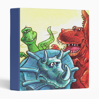 Dinosaur Friends Binder