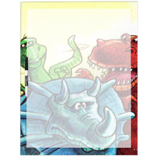 Dinosaur Friends Dry-Erase Board