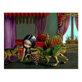 """Dinosaur Friends II"" Postcard"