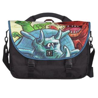 Dinosaur Friends Laptop Commuter Bag