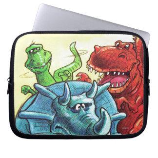 Dinosaur Friends Laptop Computer Sleeves