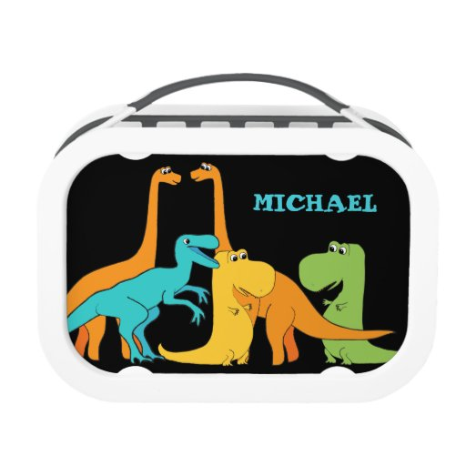 Dinosaur Friends Personalized Lunch Box