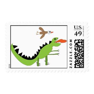 Dinosaur Friends Postage