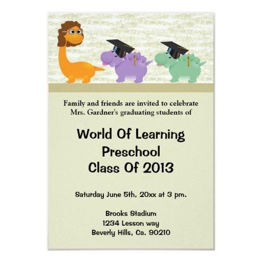 Kindergarten Graduation Invitations as best invitation layout