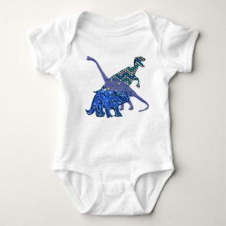 Dinosaur Gang Baby Bodysuit