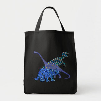 Dinosaur Gang Tote Bag