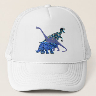 Dinosaur Gang Trucker Hat