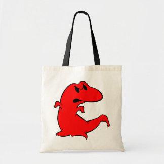 Dinosaur Ghost Tote Bag