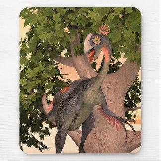 Dinosaur Gigantoraptor Mouse Pad