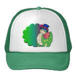 Dinosaur Green Mesh Hats