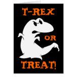 Dinosaur Halloween Card