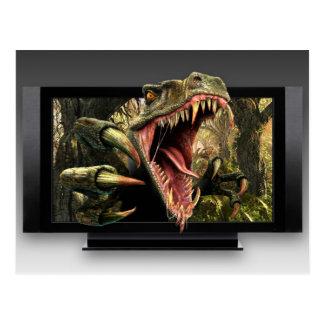 Dinosaur HDTV Postcard