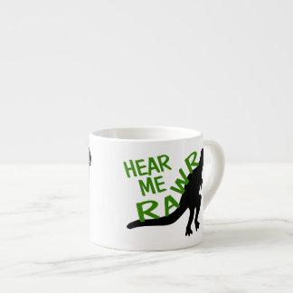 Dinosaur Hear Me Rawr Espresso Cup