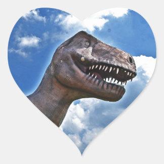 Dinosaur!!! Heart Sticker