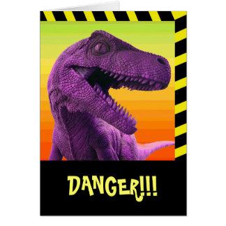 Dinosaur Humor Card