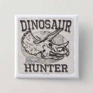 Dinosaur Hunter Design by Mudge Studios Button