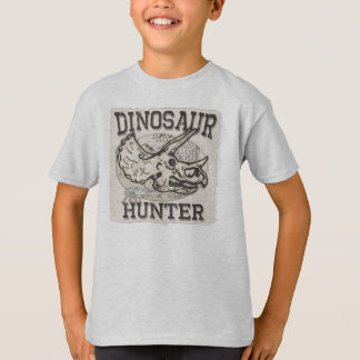 Dinosaur Hunter Design by Mudge Studios T-Shirt