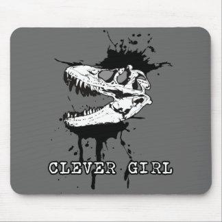Dinosaur Hunter Mouse Pad