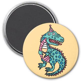 Dinosaur & Ice Cream Magnet