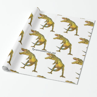 Dinosaur image for Glossy-Wrapping-Paper Wrapping Paper