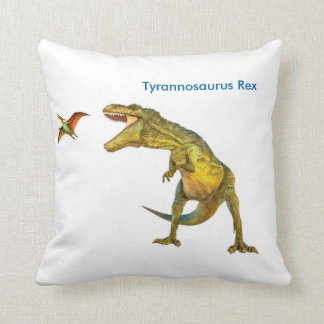 Dinosaur image for Polyester-Cushion Throw Pillow