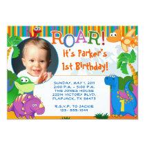 Dinosaur Invitation - Kids Birthday