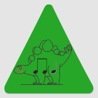 Dinosaur IPA Triangle Sticker