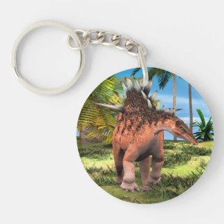 Dinosaur Kentrosaurus Keychain
