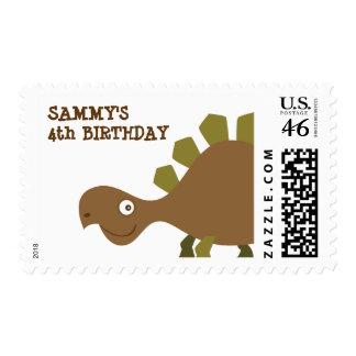 Dinosaur Land Party Postage